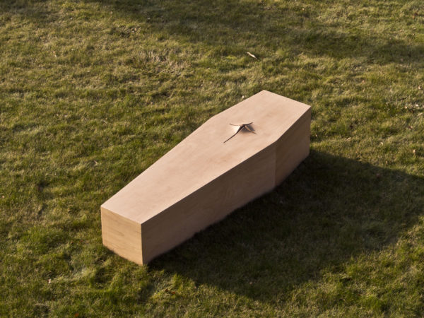 Curved Cross Coffin